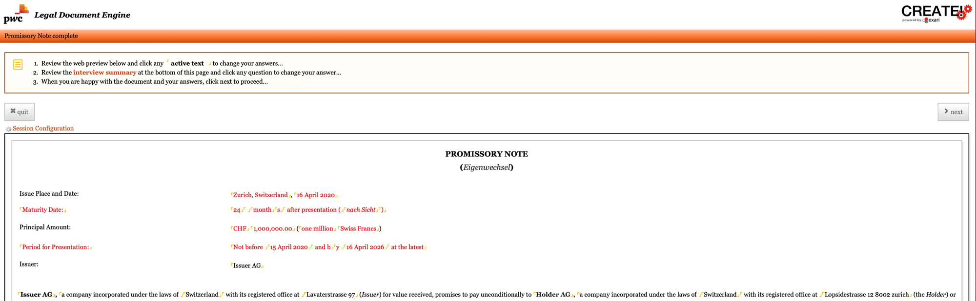 Summary-page-Promissory-Note